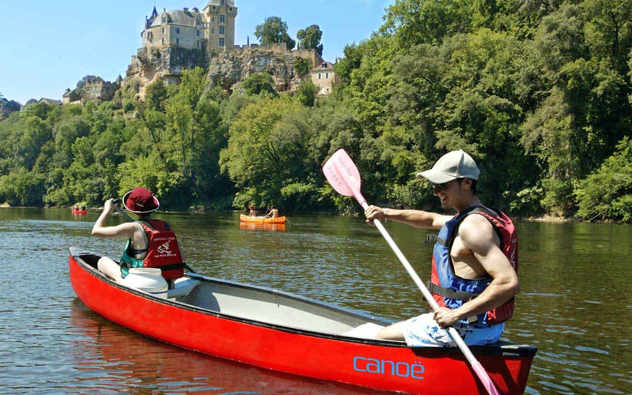 Circuit Découverte du Périgord en canoe kayak sarlat