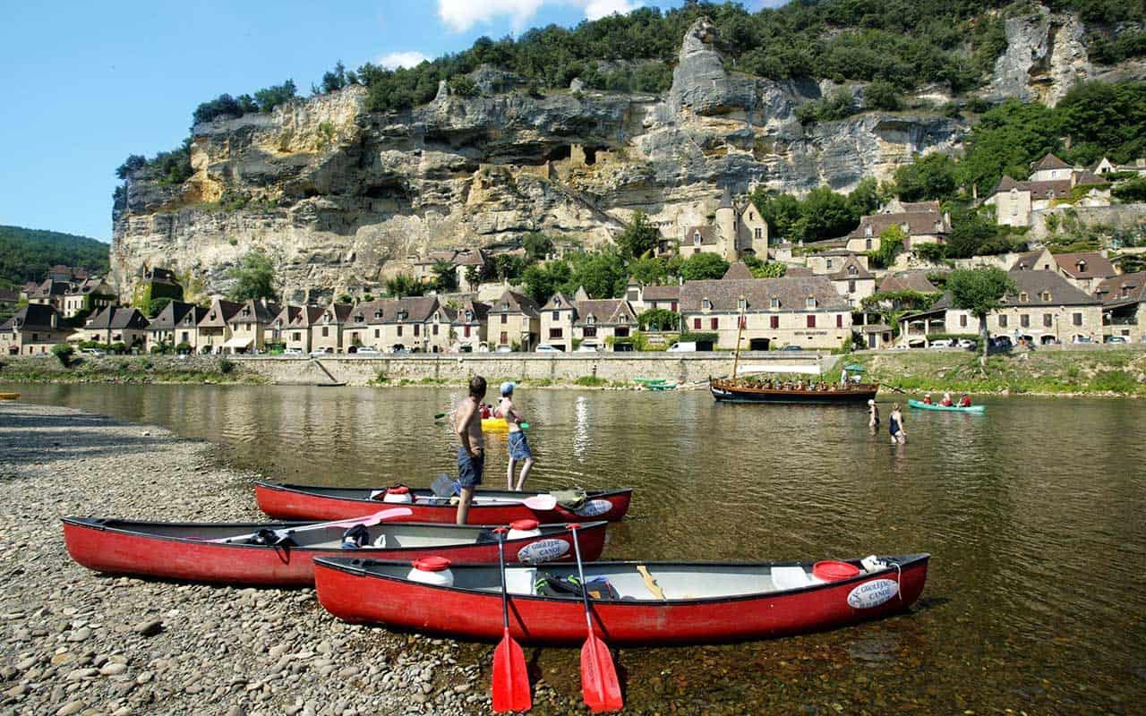parcours canoe dordogne Circuit Pittoresque sur La Dordogne